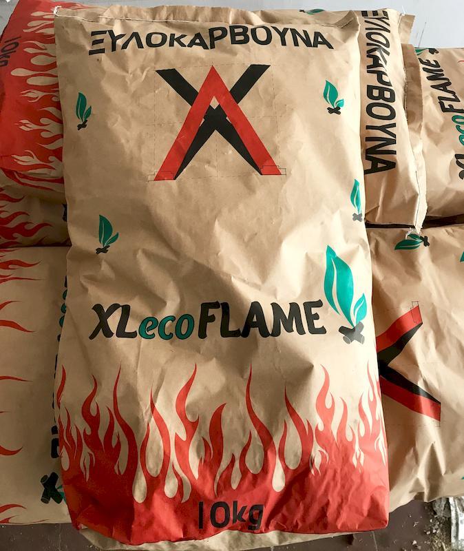 Ξυλοκάρβουνα XLecoFLAME 10 kg