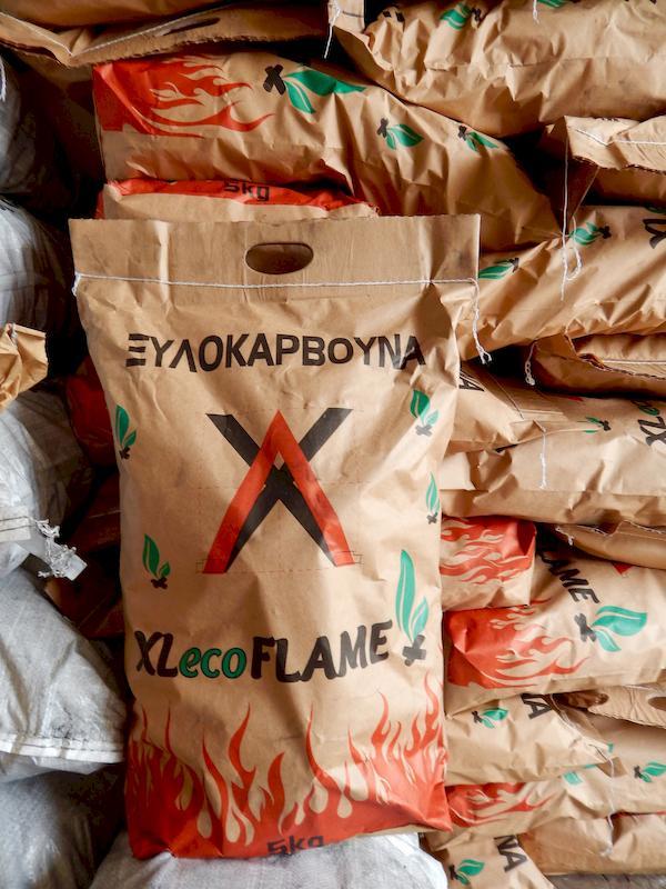 Ξυλοκάρβουνα XLecoFLAME 5 kg